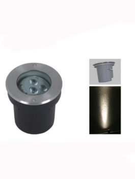 3W/6W/9W LED Ajustable Inground Light