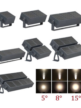 50W ~ 400W LED Floodlight 5°/8°/15°/20°/30°/45°/60° IP66