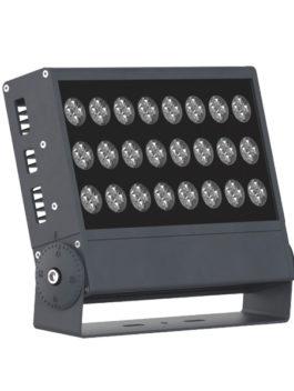 96W 120W Single Color/RGB/RGBW DMX512 LED Floodlight IP65