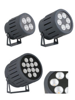 100W/150W/300W COB LED Floodlight 15°/23°/38°/45°/60° IP66