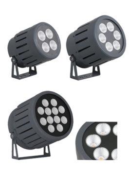 100W/150W/300W COB LED Floodlight 15°/23°/38°/45°/60° IP66