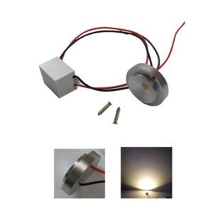 1W/3W 12V Flat LED Module Light 120° IP65