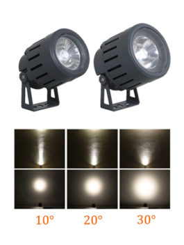 30W/50W COB LED Floodlight Round 10°/20°/30° IP66