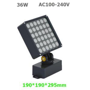 36W AC100-240V LED Garden Spot Floodlight with spike or base