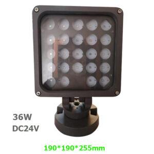 36W DC24V LED Garden Spot Lamp Floodlight with spike or base