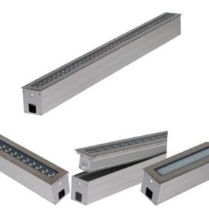 18W/24W/36W single color, 36W/48W RGB/RGBW LED Linear Inground Light
