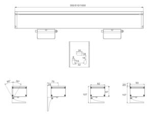 108W single light 108W 144W RGB/RGBW LED Polarized Washer