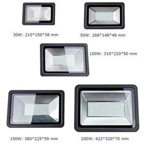 30W 50W 100W 150W 200W Slim LED Floodlight flood light Outdoor Luminaires IP65