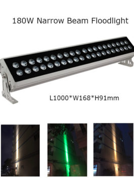 180W 100cm LED Floodlight Project Lamp Narrow Beam 3° P65