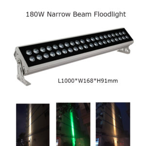 180W 100cm LED Floodlight Project Lamp Narrow Beam 3° P65
