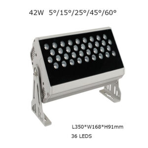42W 35cm LED Floodlight Project Lamp 5, 15, 25, 45, 60 degrees P65