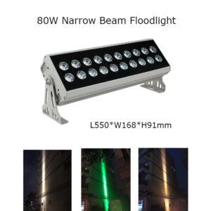 80W 55cm LED Floodlight Project Lamp Narrow Beam 3° P65