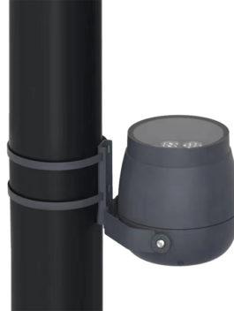 9W-54W single color 18W-96W RGB LED Floodlight Hoop Installation