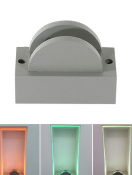 10W LED Window Light Garage Hallway Architecture Outline Lighting 180˚ IP65