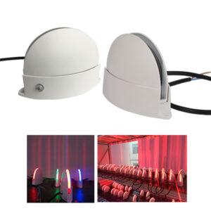 12W LED Window Trick Light Garage Hallway Aisle Lighting 180˚ IP54/IP65