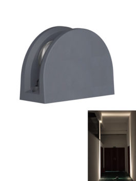 12W LED Window Light Garage Hallway Architecture Outline Lighting 180˚ IP65