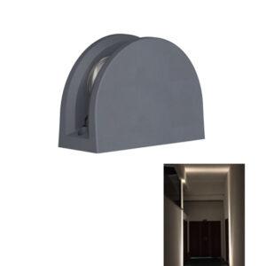 12W LED Window Light Garage Hallway Architecture Outline Lighting 180˚ IP65