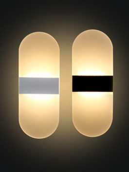 3W/4W/6W Acrylic Diffuse LED Wall Light 180° IP44