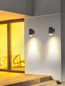 3W/6W/9W/12W/15W/18W LED Up or Down Wall Light Outdoor