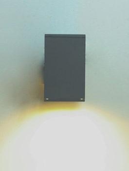 3W/6W/9W/12W/15W/18W Square LED Wall Light Single-head IP65