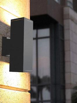 6W/12W/18W/24W/30W/36W Square LED Up & Down Wall Light Outdoor