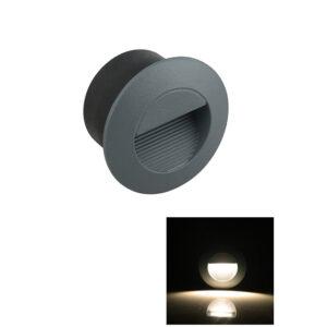 2W Round COB LED Staircase Step Light Ramp Wall Lamp IP65 Φ83mm