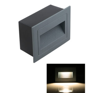 3W LED Staircase Step Light Ramp Wall Lamp L115*W85*H50 mm IP65