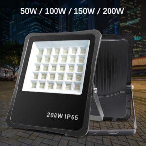 50W/100W/150W/200W Slim SMD2835 LED Flood Light 120° IP65