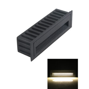 6W/9W AC85-265V COB LED Step Light Stair Corner Wall Lamp IP65