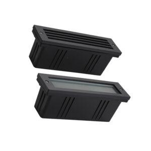 6W DC24V/AC85-265V LED Step Light Stair Wall Corner Lamp IP65