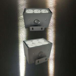 6W 12W LED Floodlight Wall Lamp Facade Lighting Narrow Beam 5° IP65