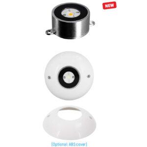 9W 12V-24V CREE LED Marine Underwater Pool Light 316L Stainless Steel IP68